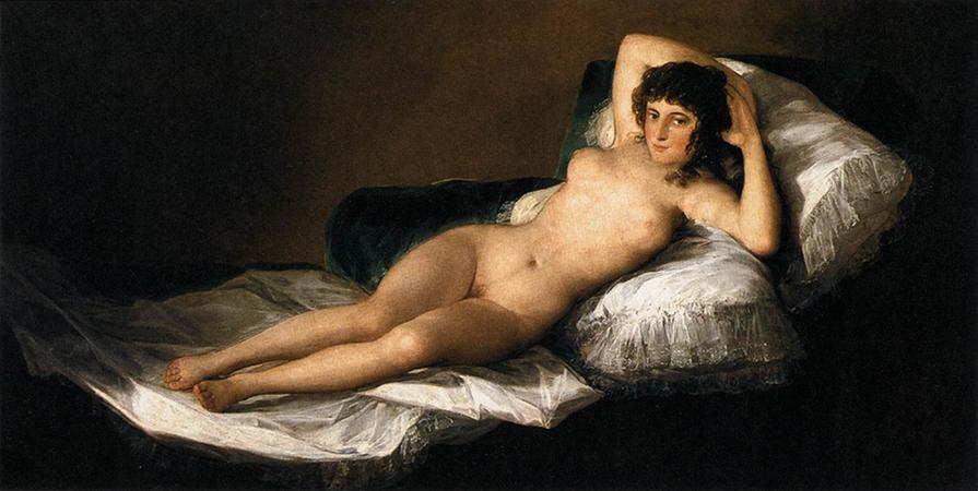 The Nude Maja, 1800