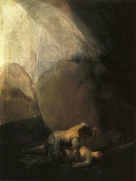 Brigand Murdering a Woman, 1800