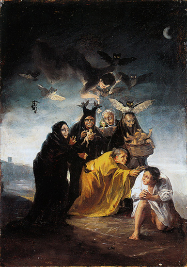 The Conjuration (The Witches), 1798