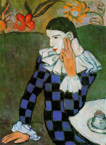 Harlequin Leaning, 1901