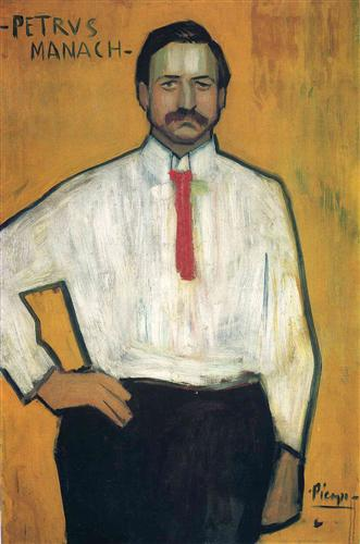 Portrait of Petrus Manach, 1901