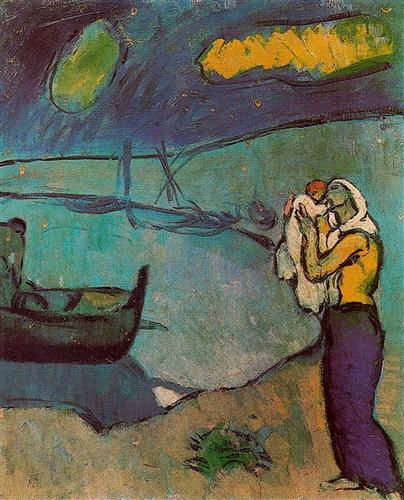 Mother and Son on the Shore, 1902