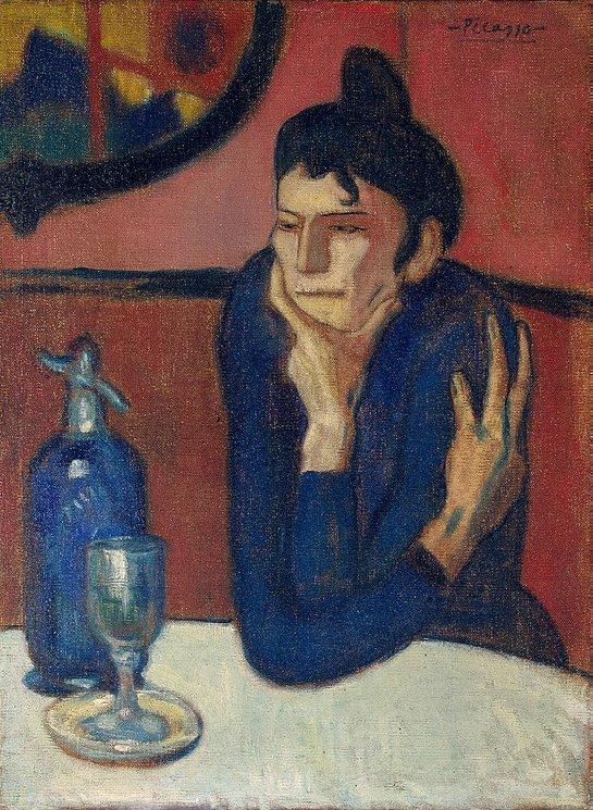 Absinthe Drinker, 1902