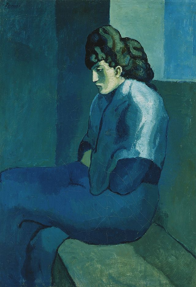 Melancholy Woman, 1903