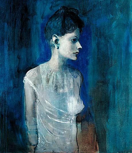 Girl in Chemise, c 1905