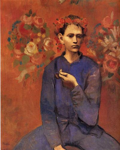Boy with a Pipe, 1905