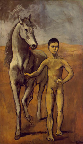 Boy Leading a Horse, 1906
