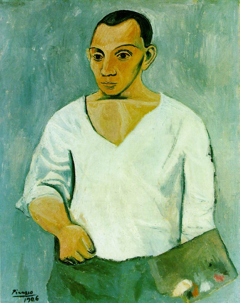 Self Portrait with Palette, 1906