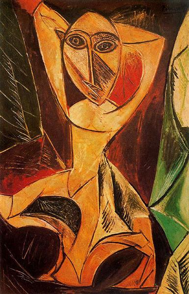 Nude with Raised Arms (Avignon Dancer), 1907