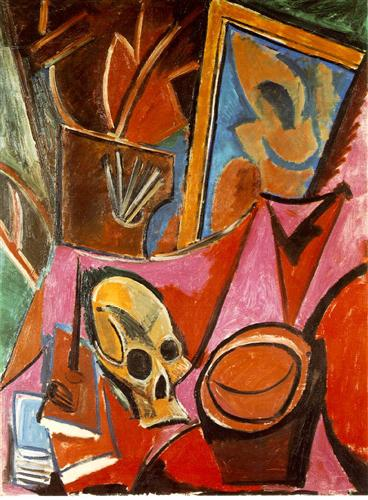 Composition with Skull, 1908