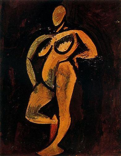 Standing Nude, 1908