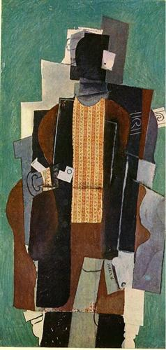 Man with a Pipe, 1914