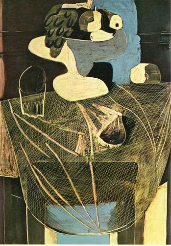 Still Life with Fishing Net, 1925