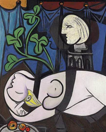 Nude Green Leaves and Bust, 1932