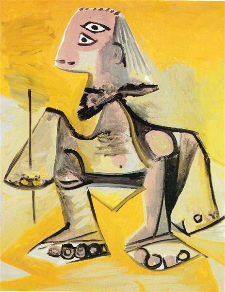 Crouching Man, 1971
