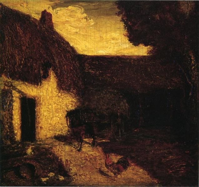 The Barnyard, 1874