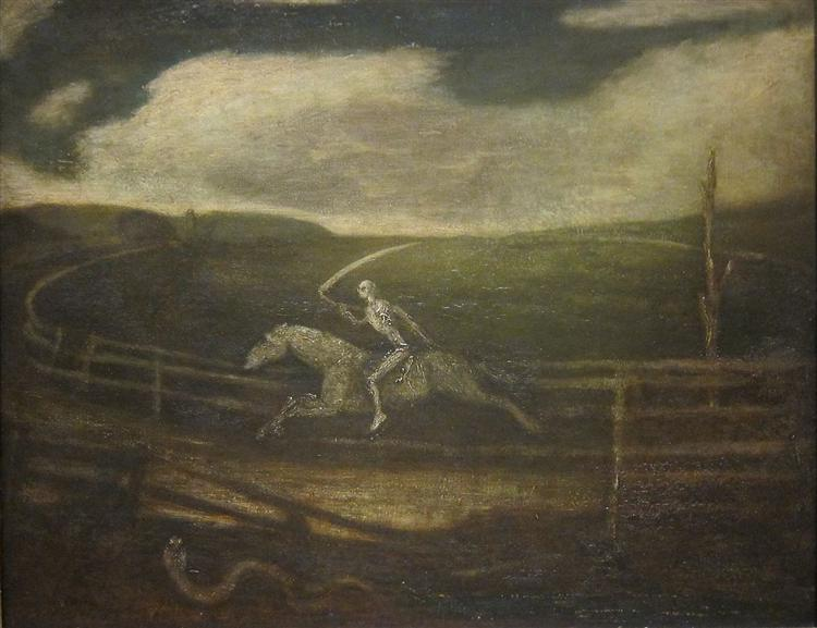 The Racetrack (Death on a Pale Horse), 1900
