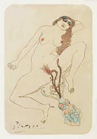 Erotic Drawing, 1903