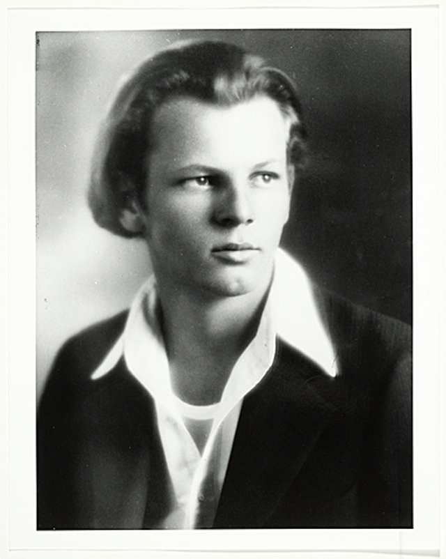 Jackson Pollock, high school photo, age 16