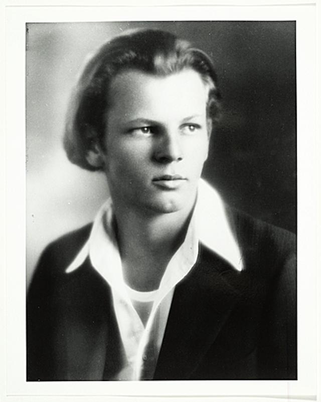 Jackson Pollock, high school photo, age 16