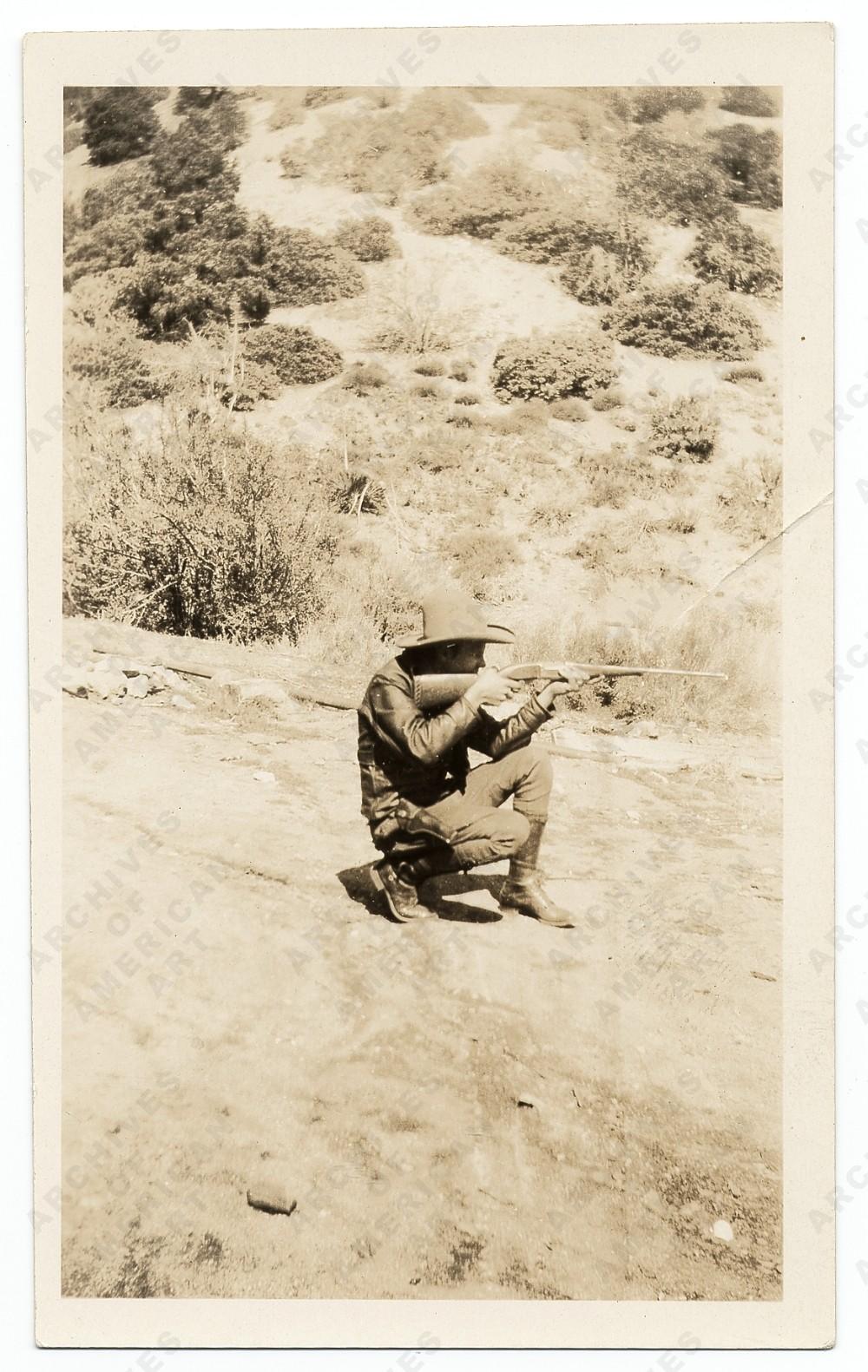 Jackson in Southern California, c 1927