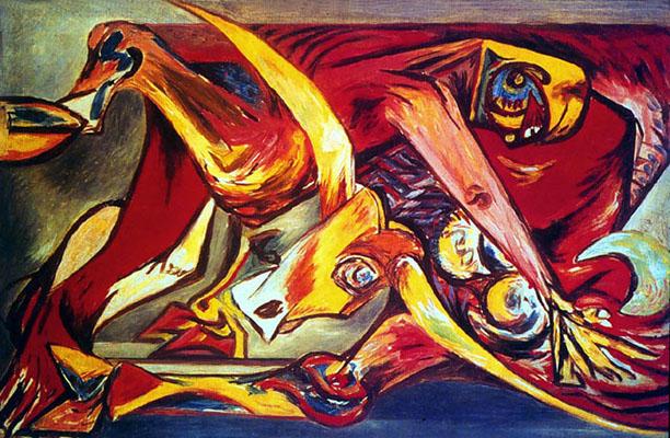 Man, Bull, Bird, 1938