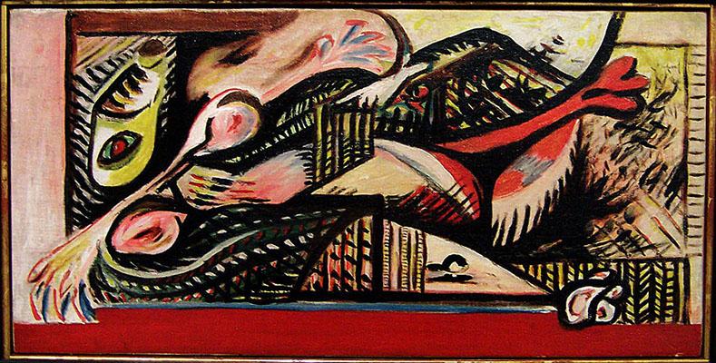 Reclining Woman, c 1938 - 1941