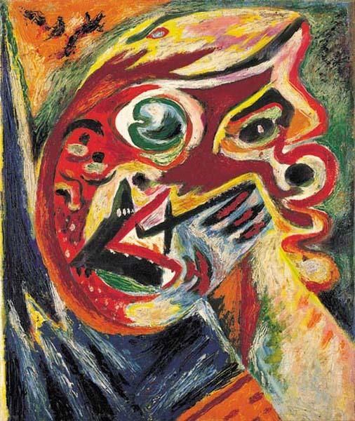 Orange Head, 1938 - 1940