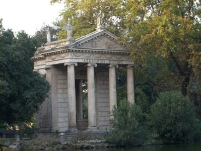 An Asclepius temple in Rome.