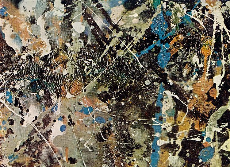 Number 1 (Lavender Mist) (detail), 1950