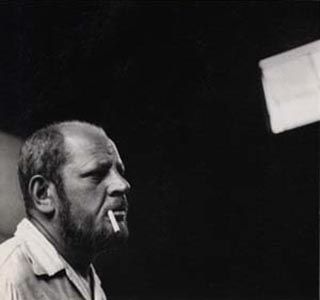 Pollock shortly before his death.