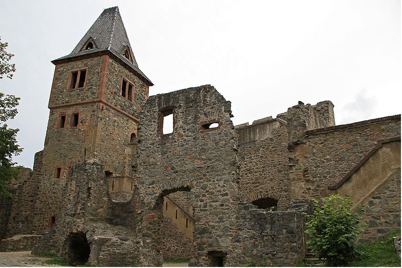 Castle Frankenstein, where Johann Conrad Dippel performed his grisly experiments.