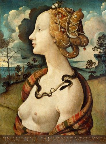Simonetta Vespucci, c 1490