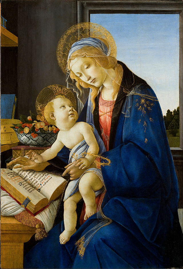 The Virgin and Child (The Madonna of the Book), 1483