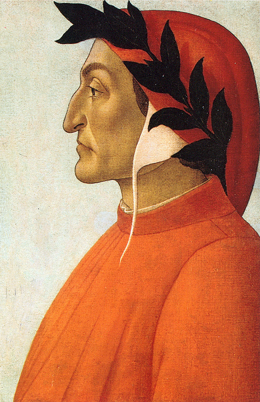 Portrait of Dante, c 1485
