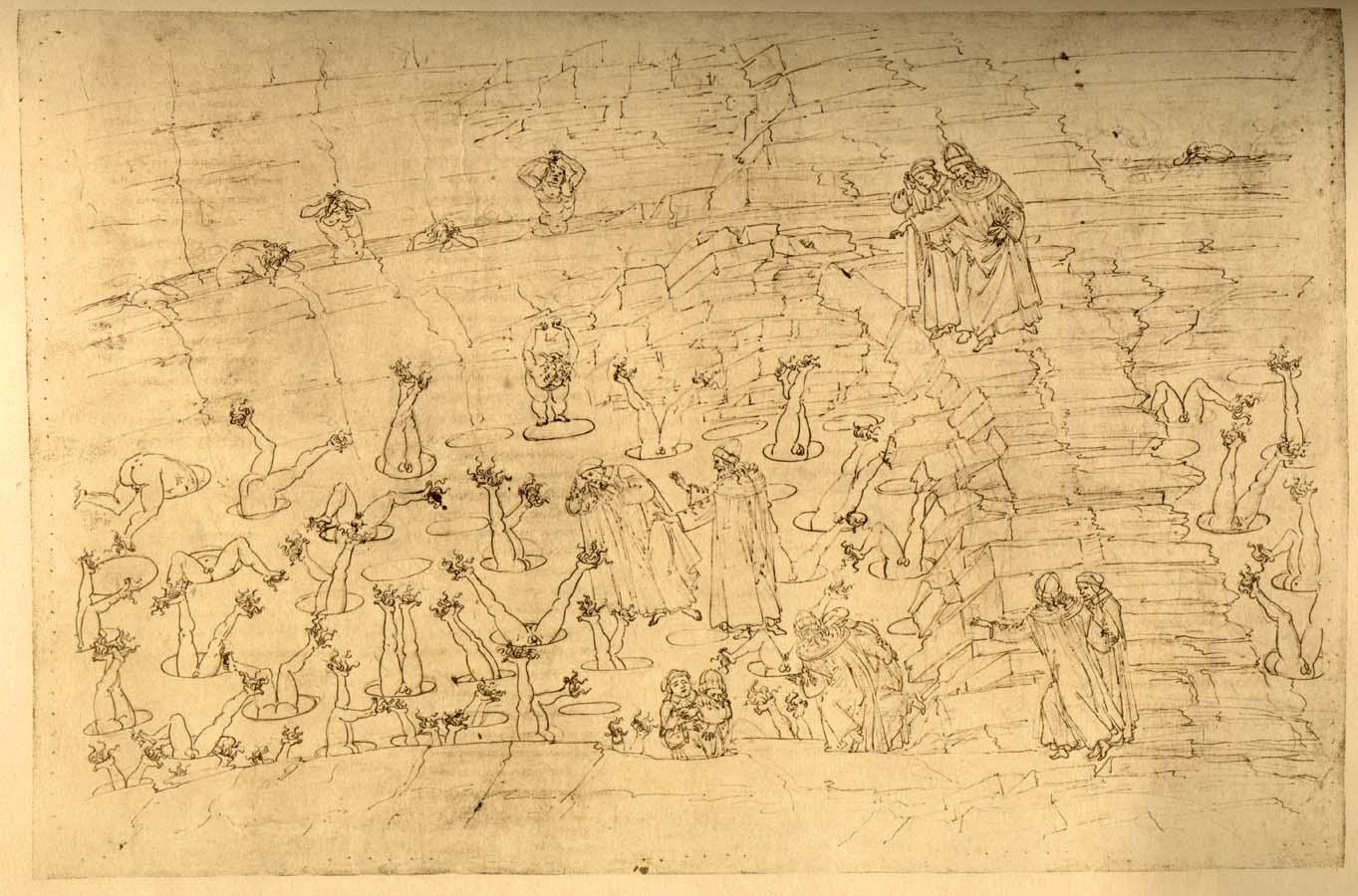 Illustration for Dante's Inferno - Simonists