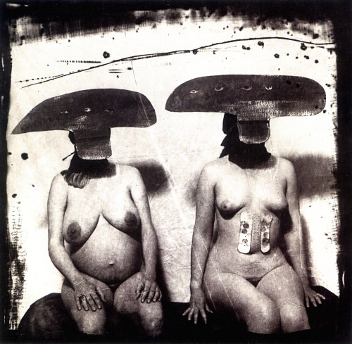 ID Photograph from Purgatory (Women with Stomach Irritations), New Mexico, 1987