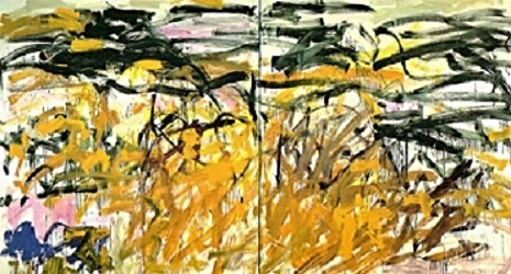 Joan Mitchell,  No Birds , 1987 - 1988