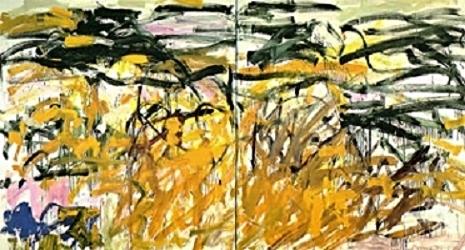 Joan Mitchell,  No Birds , 1987 - 1988