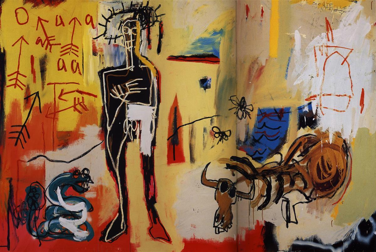 Jean MIchele Basquiat, Acque Pericolose , (1981)