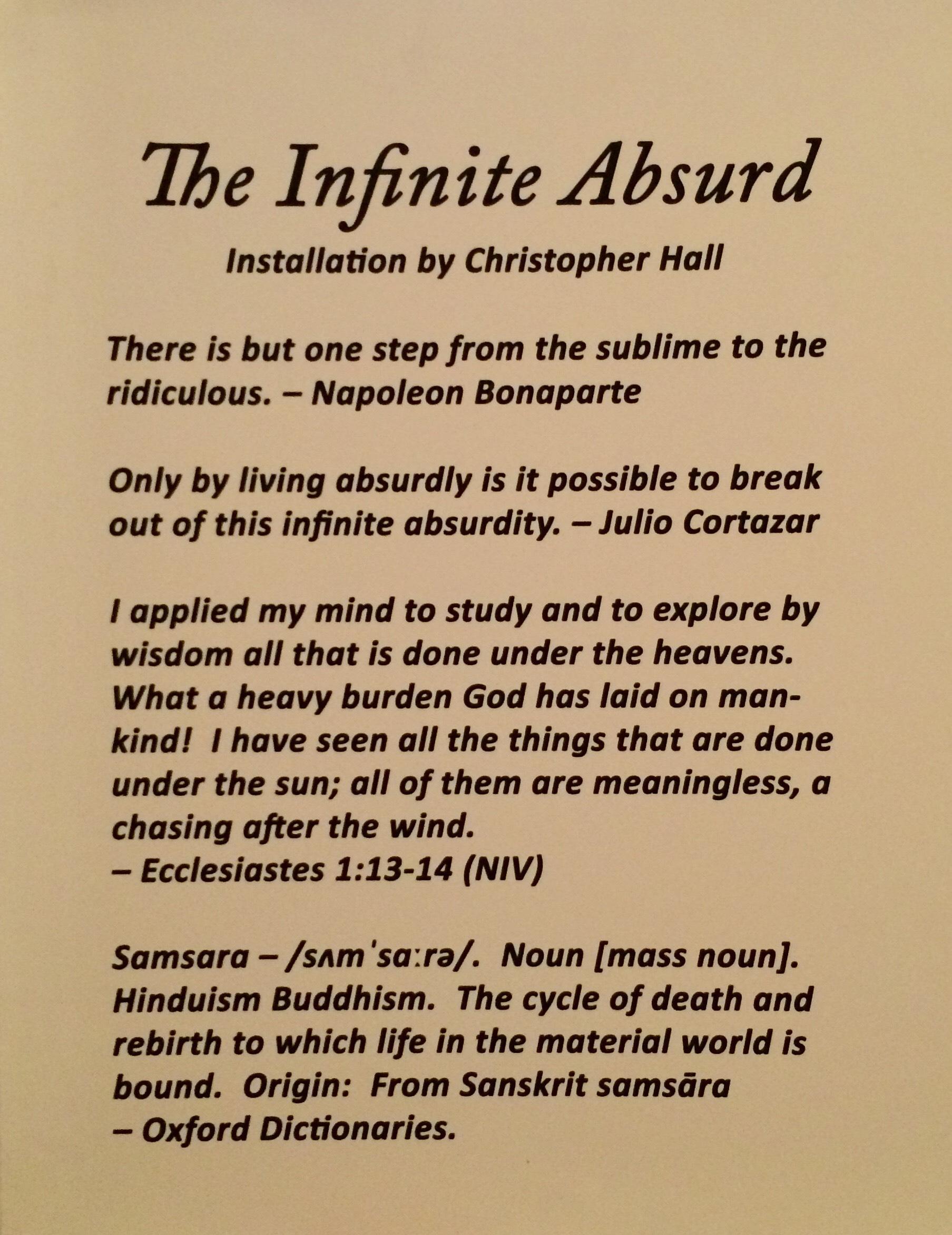 The Infinite Absurd 0.JPG