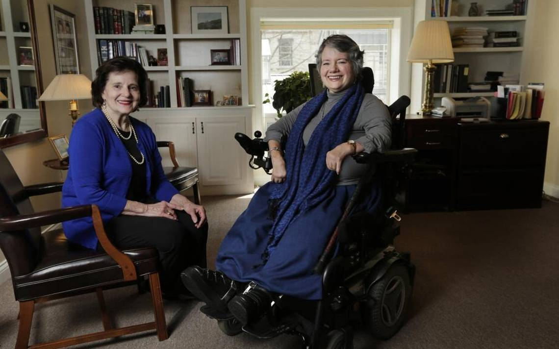 Amy E. Dougherty (right) and her mother Shirley Dougherty (left) in Amy's office at Bluegrass Elderlaw, PLLC.