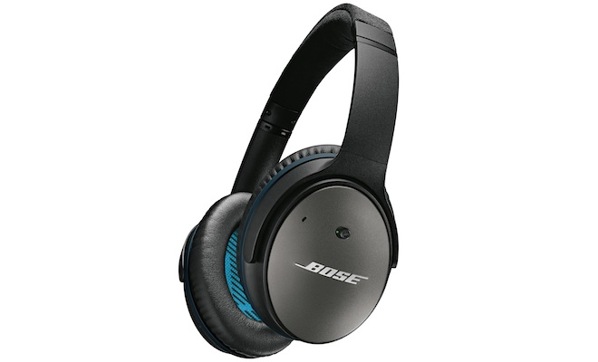 The Bose QC25 set a new standard for noise canceling technology in a portable headphone.