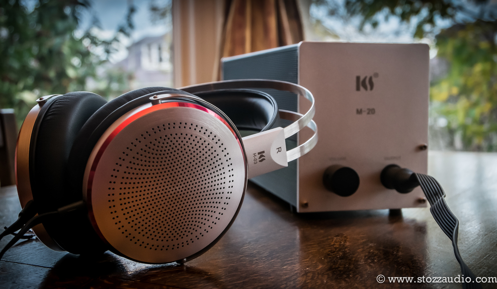 Conducting the review of the Kingsound KS-H3 Electrostatic Headphones with the Kingsound M-20 tube amplifier a great alternative to Stax headphones.