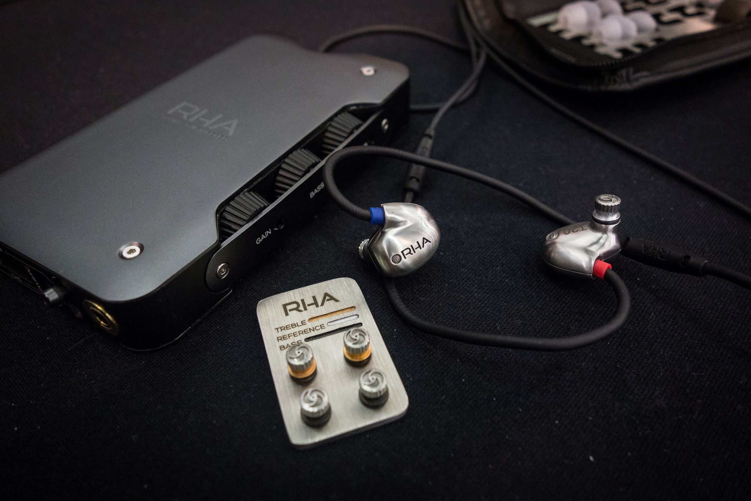 The RHA T20 IEM and the mysterious RHA DAC and amplifier due to be released next year.