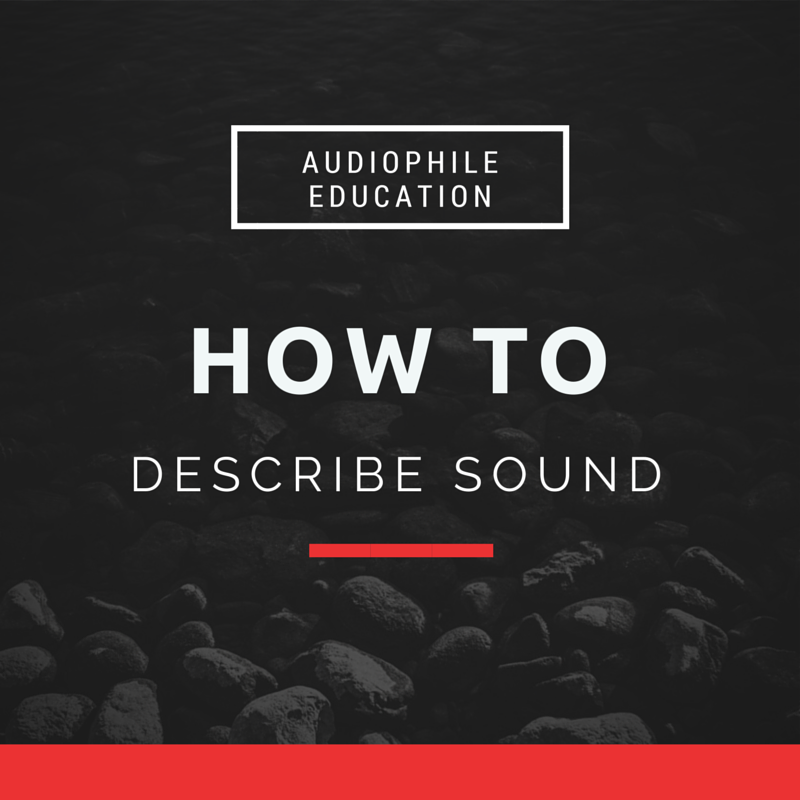 how to describe sound