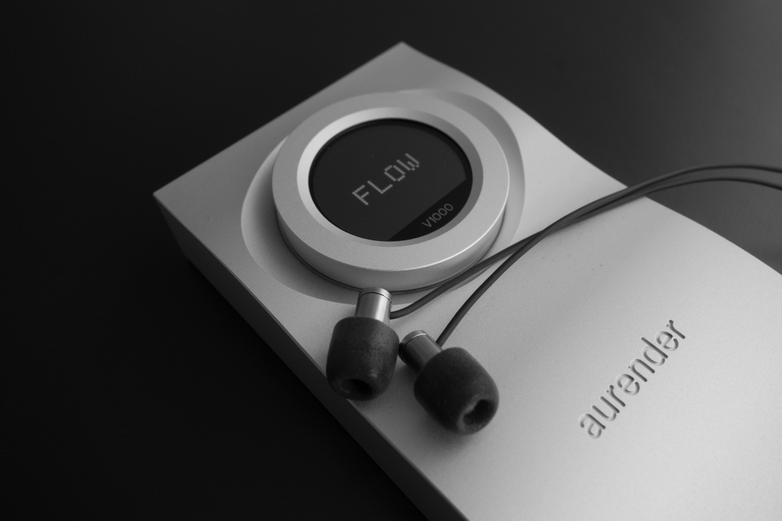 The Flare R2Pro Earphones & Aurender's Flow V1000 Amplifier &Dac. The Flare earphones have a unique sound quality but are let down by one of the worst earbud IEM cables we have ever had in a review.