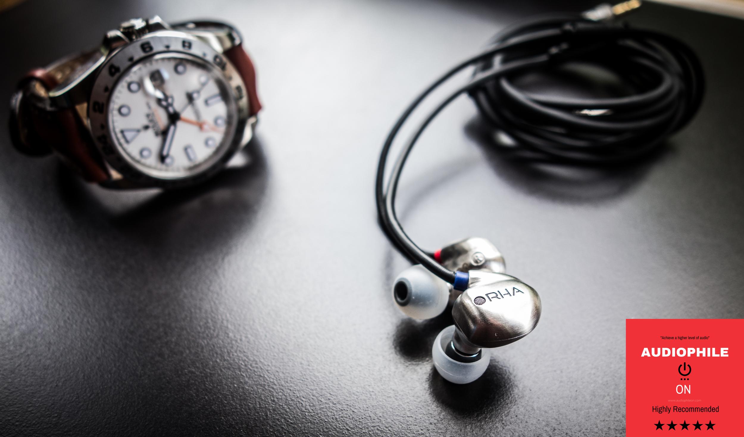 The new RHA T20 earphones