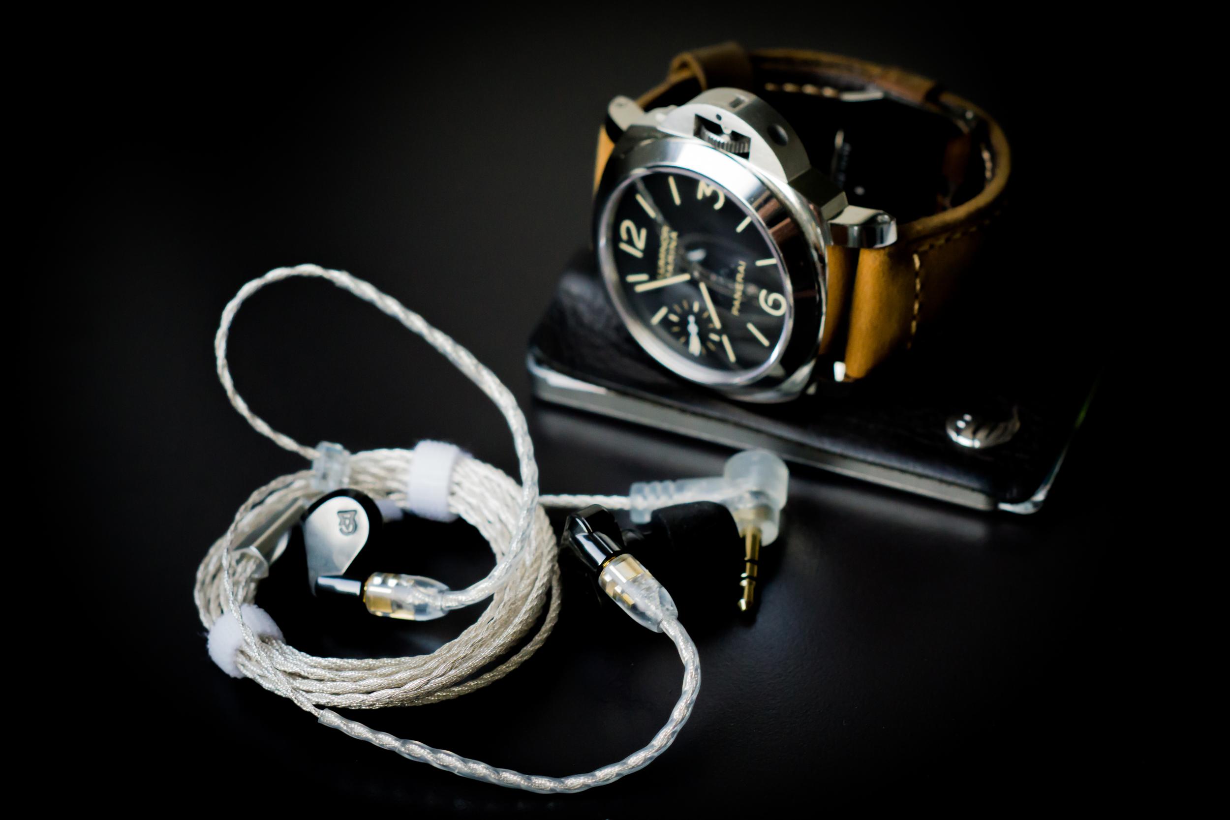 Campfire Audio Lyra + Flux wallet + Panerai watch... the perfect audiophile EDC.