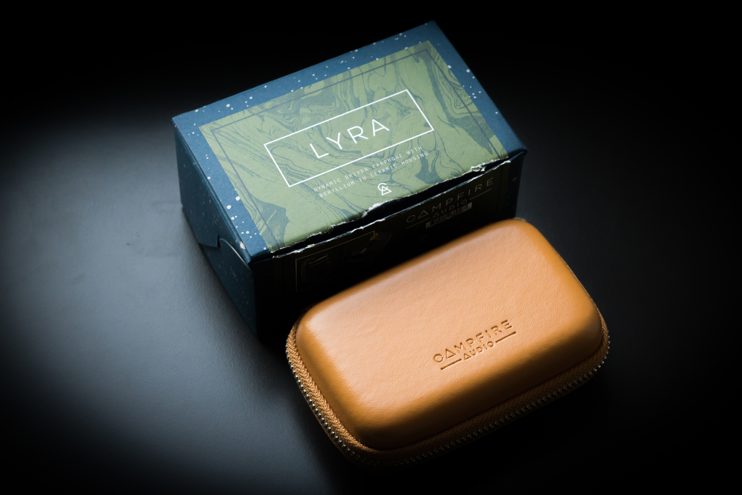 Campfire Audio Lyra Earphone Case and Packaging